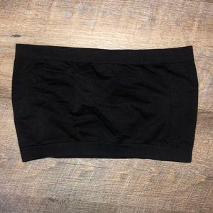 M U.S.A. | OS | Black spandex bandeau
